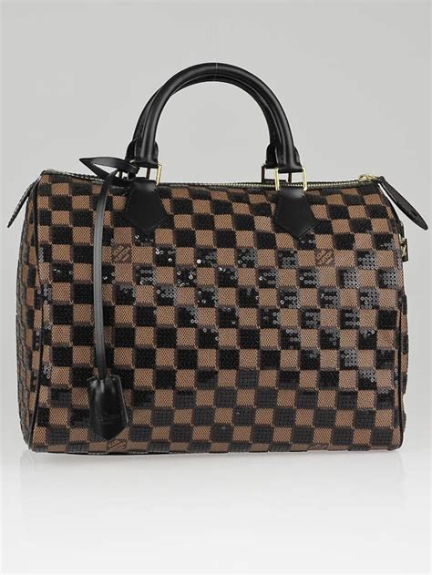 Tas Lv Seepdy Edition louis vuitton limited edition damier paillettes speedy 30 bag yoogi s closet