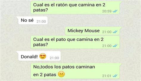 imágenes graciosas conversaciones de whatsapp chistes de chat whatsapp 9 conversaciones rom 225 nticas que acabaron en una