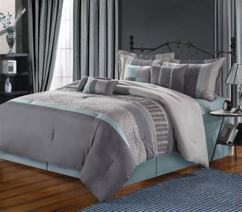 chic home euphoria comforter blue and grey bedding webnuggetz com