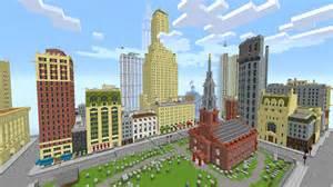 Minecraft New York City Map new york city in minecraft minecraft map youtube