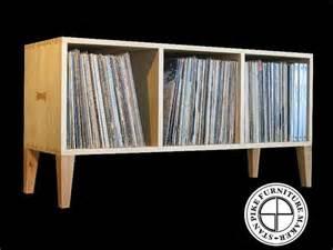 horizontal vinyl record album storage cabinet by stanpike