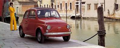 Fiat 500 Country Of Origin Fiat 500 The Small Car That Put All Of Italy On Wheels