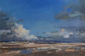 webber landscapes cloud west mersea by artist graham webber