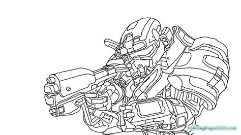 Halo 4 Coloring Pages by Halo Coloring Pages Free Printable Coloring Pages