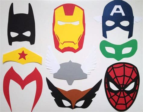 printable photo booth props superhero photo booth props free printables ideas of photo booth