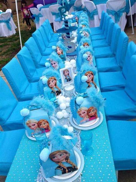 Frozen Table by Frozen Table Setting Frozen Ideas