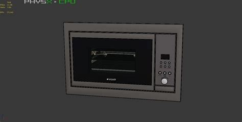 Built In Toaster 3d Model Built In Toaster Oven 001 Arcelik Vr Ar Low
