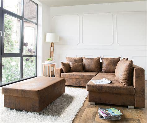 überzug für sofa mit ottomane lavello braun 210x210 ottomane rechts hocker antik