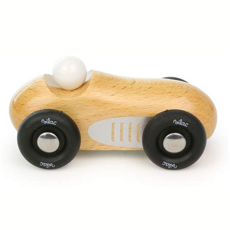 wooden toys wooden car for children vilac made in