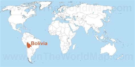 bolivia on the world map the gallery for gt bolivia world map
