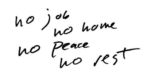 No Rest No Peace no no home no peace no rest junior varsity studios