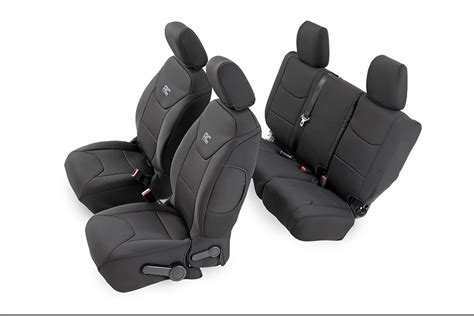 neoprene seat covers for jeep wrangler black neoprene seat cover set for 2013 2016 jeep wrangler
