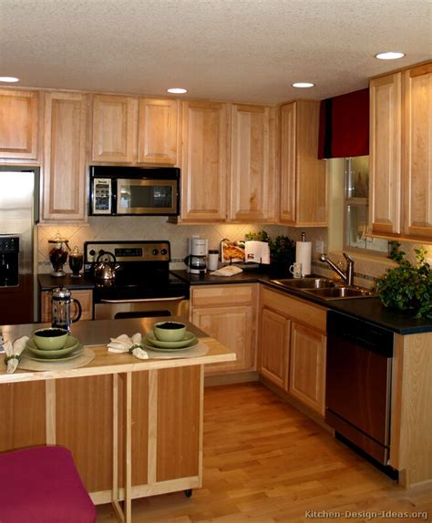 Light Wood Cabinets Kitchen Pictures Of Kitchens Traditional Light Wood Kitchen Cabinets Page 2
