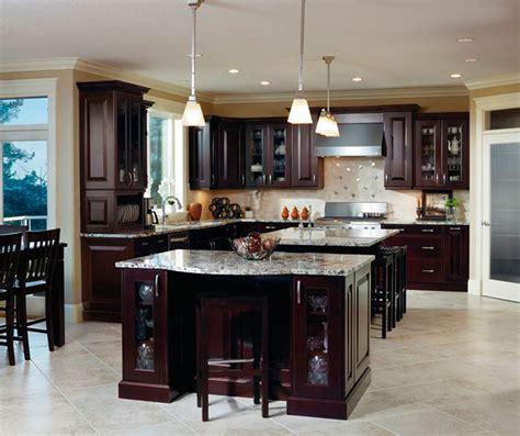 fresh interior kitchens with espresso cabinets decorate