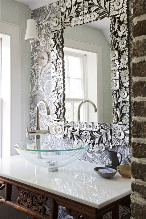 Bathroom Mirror Decorating Ideas by Top 10 Most Gorgeous Living Spaces Featuring Stunning
