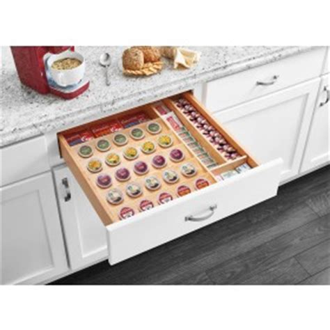 K Cup Drawers by Tiered Soft K Cup Drawer For 18 Quot Base Cabinets