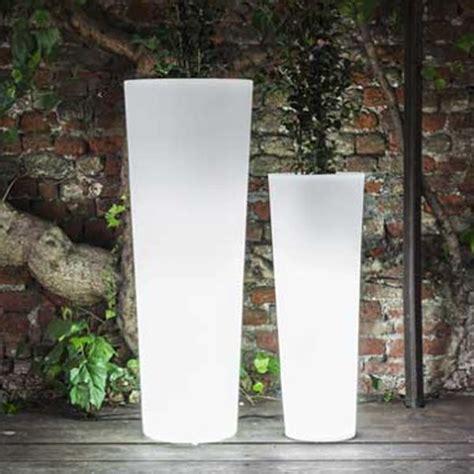 serralunga newpot illuminated outdoor planter lighted