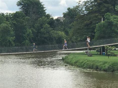 swinging bridge croswell mi croswell swinging bridge bridge maple street in