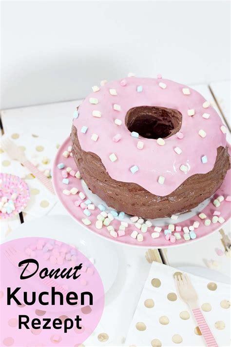 donut kuchen ausgefallene kuchen rezepte donut torte backen donuts