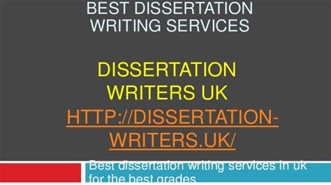 uk dissertation writers dissertation writing services