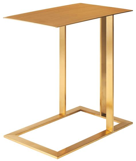 Metal Side Table Gold Metal Side Table From Nuevo Coleman Furniture