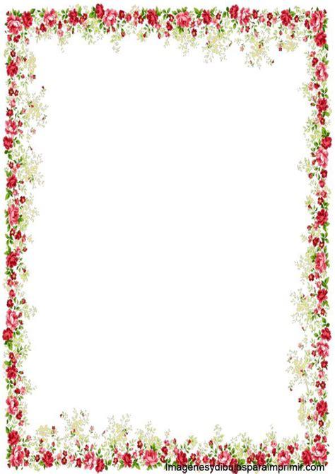marcos para decorar hojas infantiles imagenes de ramas y flores para decorar marcos para