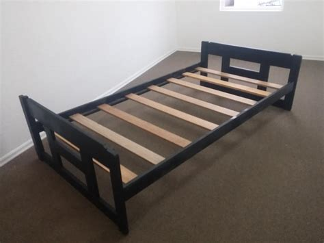 Great Condition Black Single Bed Frame No Box Spring Bed Frame No Box Required