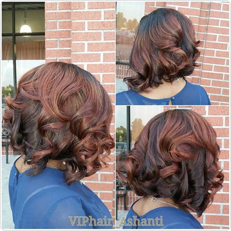dark hair with layered bob and soiral perm 20 pretty permed hairstyles pop perms looks you can try