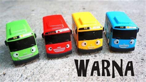 belajar mengenal warna bus tayo bahasa indonesia youtube