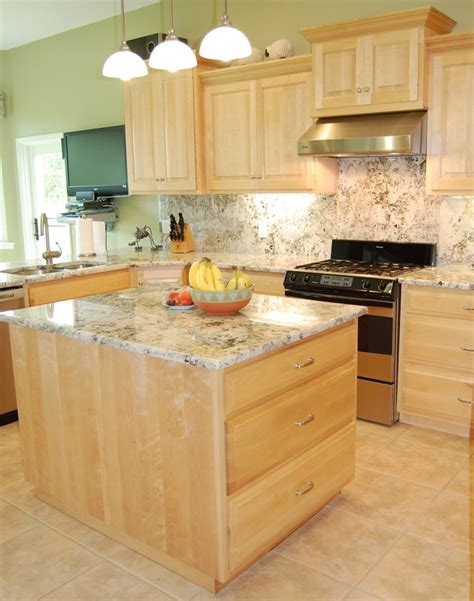 maple kitchen furniture natural maple kitchen cabinets photos