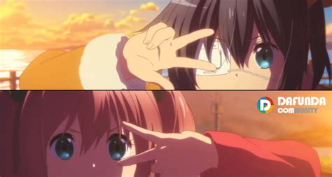 film anime chuunibyou trailer ketiga movie anime chuunibyou take on me