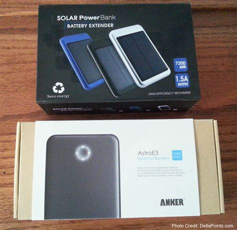 Saturday Giveaway - two battery bricks delta points swag saturday giveaway anker astroe3 10000mah and