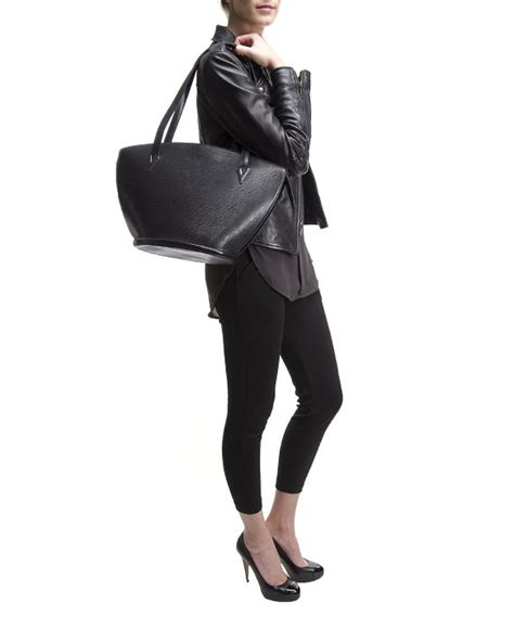 St Syahla 4in1 Black Pm louis vuitton pre owned black epi leather jacques bag in black lyst