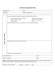 employee coaching form kansas free download