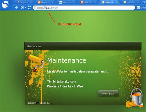 membuat web server sendiri menggunakan speedy telkom speedy makassar indihome makassar official web