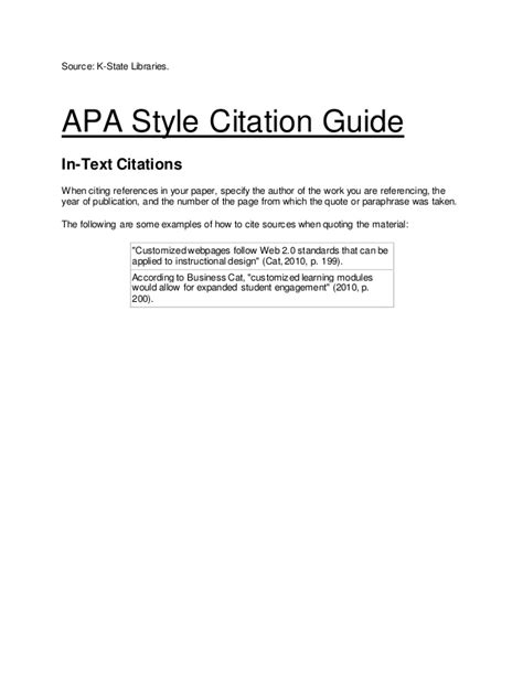 apa format made easy apa style citation format easy guide sles