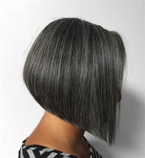salt and pepper weave hair styles for black women 60 gorgeous hairstyles for gray hair