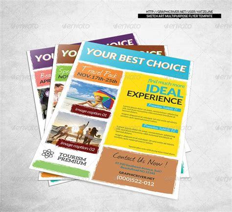 Corporate Sketch Art Multipurpose Flyer Template Indesign Templates And Flyer Template Indesign Event Flyer Templates