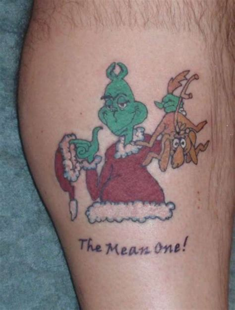 grinch tattoo designs 50 inspiring tattoos designs amazing ideas