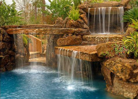 backyard pools with waterfalls best 25 pool water ideas on pinterest pool drawing