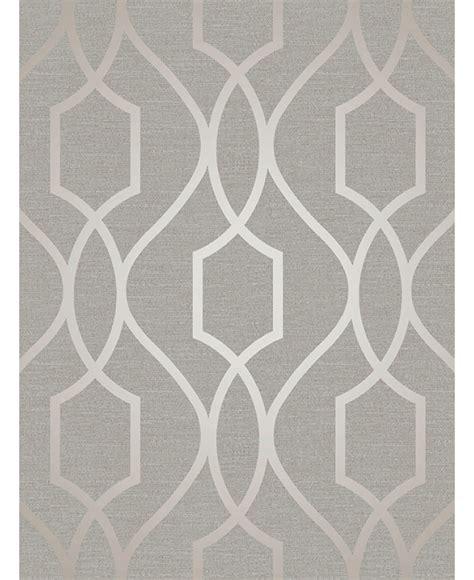black and white geometric wallpaper uk apex geometric trellis wallpaper grey and taupe fine decor
