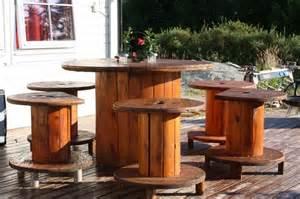 tisch aus kabelrolle diy kabelrolle tisch ihr eigener designer tisch freshouse