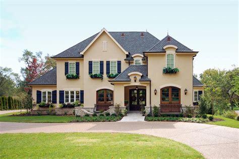 french country homes exterior photos hgtv
