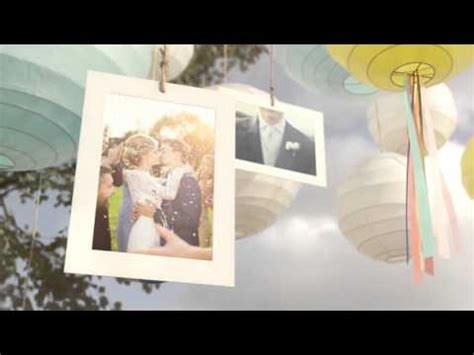 Sunny Lanterns Wedding 3d Slideshow Videohive After Effects Template Youtube 3d Photos Slideshow After Effects Template