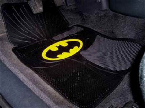 Batman Floor Rug by Museum Of Pop Culture Exhibit 30 Batman Car Floor Mats