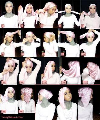 kumpulan tutorial hijab turban tips cara mudah pakai hijab turban pesta gaya baru