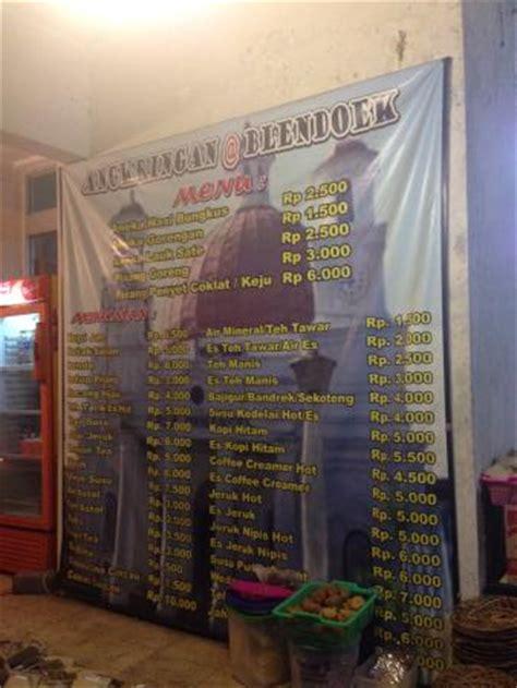 Daftar Kulkas Yg Murah daftar menu dan harga yg murah meriah picture of angkringan blendoek semarang tripadvisor