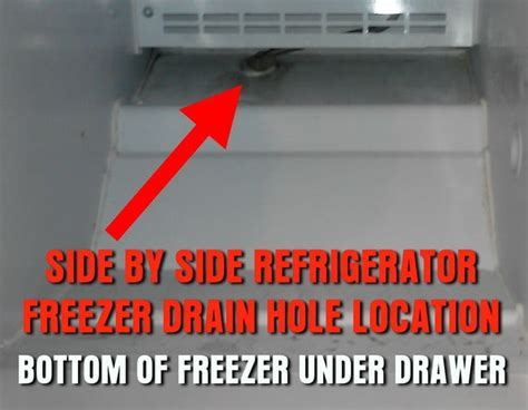 bottom drawer freezer leaking water how to repair a freezer dripping water into refrigerator