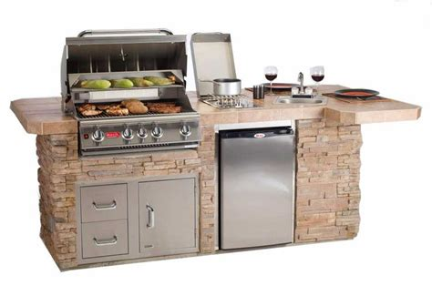 outdoor kitchen bbq designs portable outdoor grill island with awesome features like