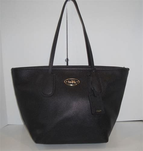 Coach Turnlock Tote Black Tas Asli Original Bag Authentic Bag 1 24 best images about coach handbags accessories on leather tote bags minis and smooth